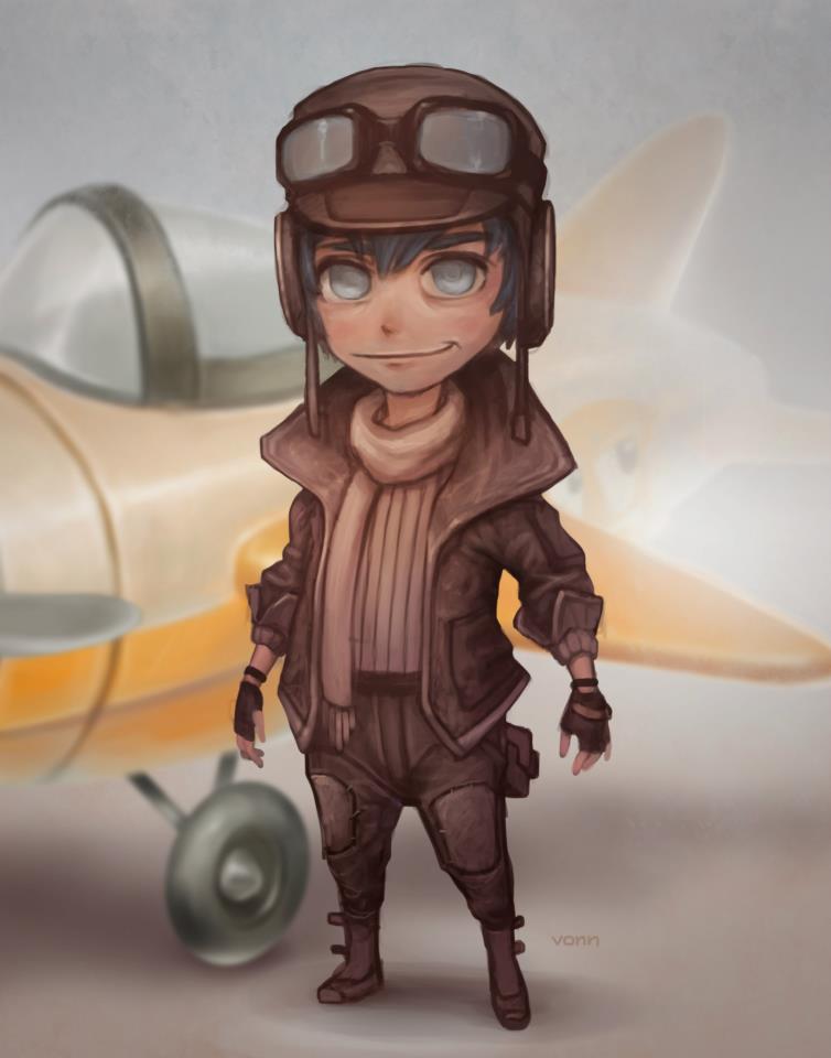 Photoshop Pilot Brother