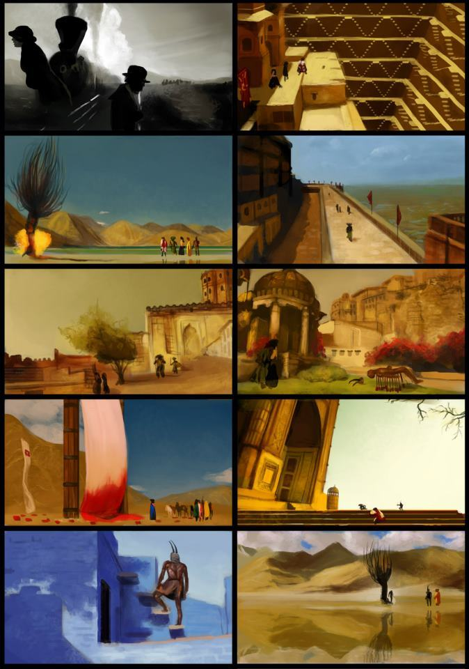 """""""The Fall"""" Environment Study"""
