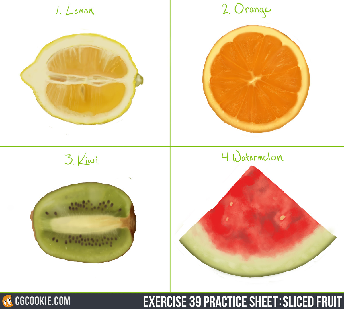 E39: Sliced Fruit