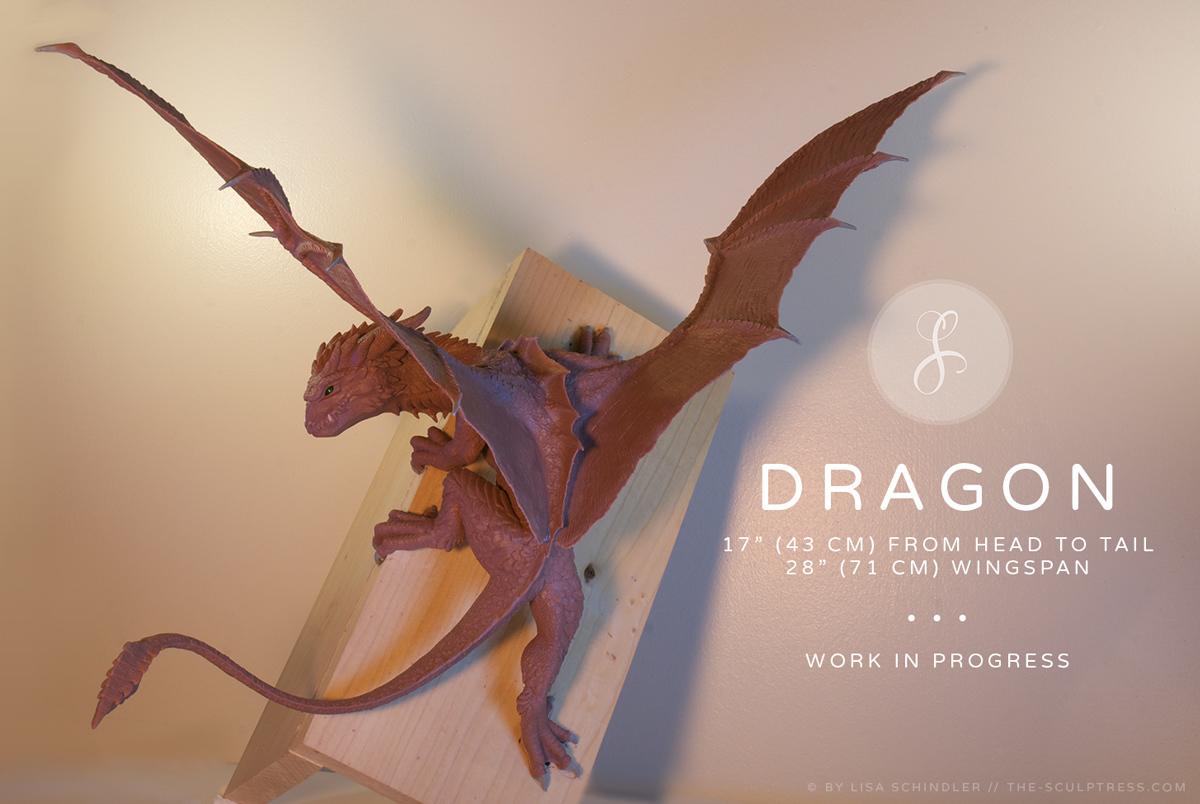 Full-sized Dragon Figurine