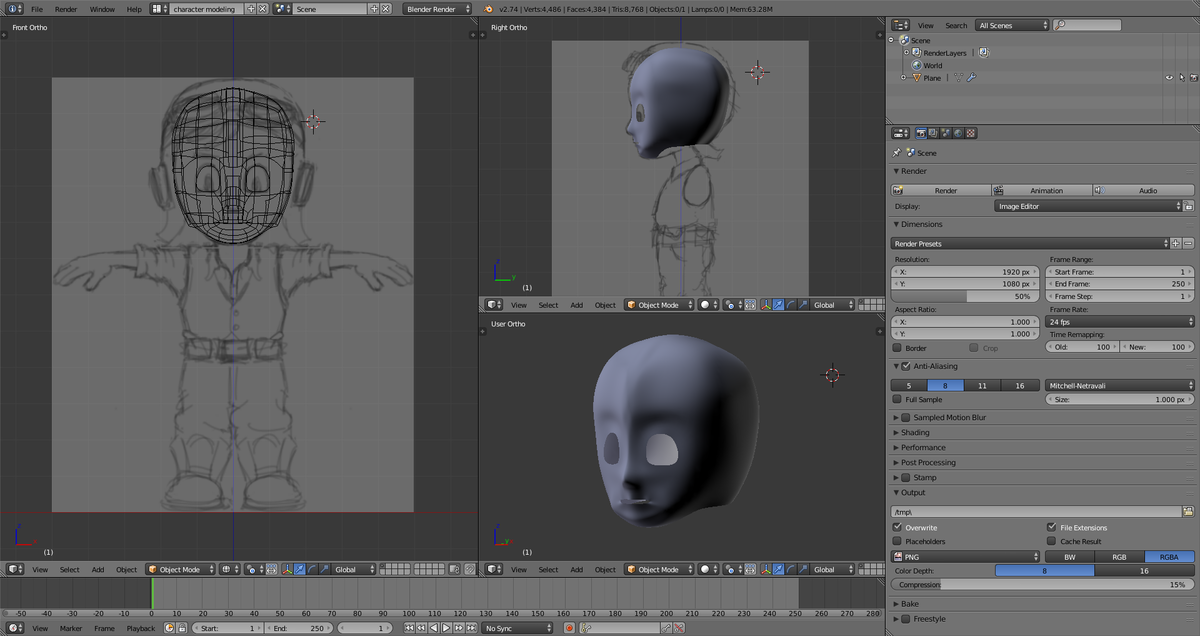 Character Creation (WIP)!
