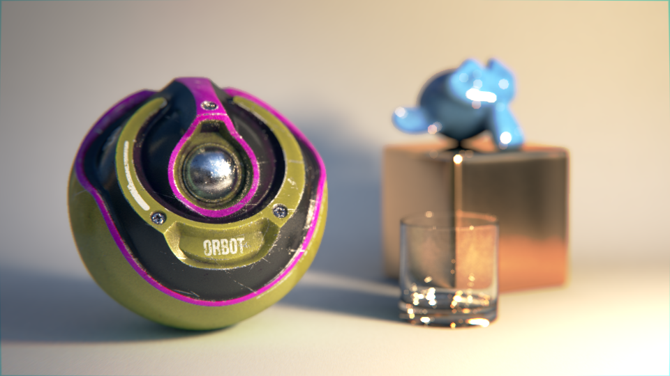 Compositing Sci-Fi Orb in Cycles