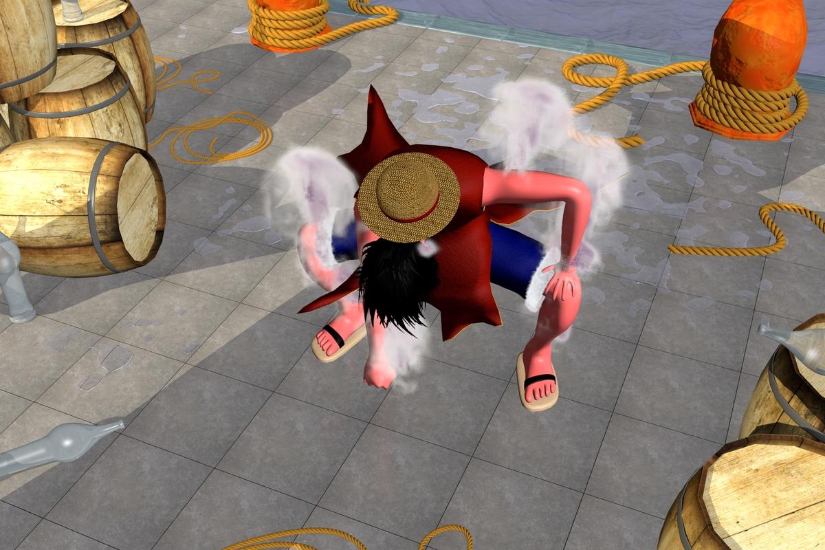Luffy : gear-second !