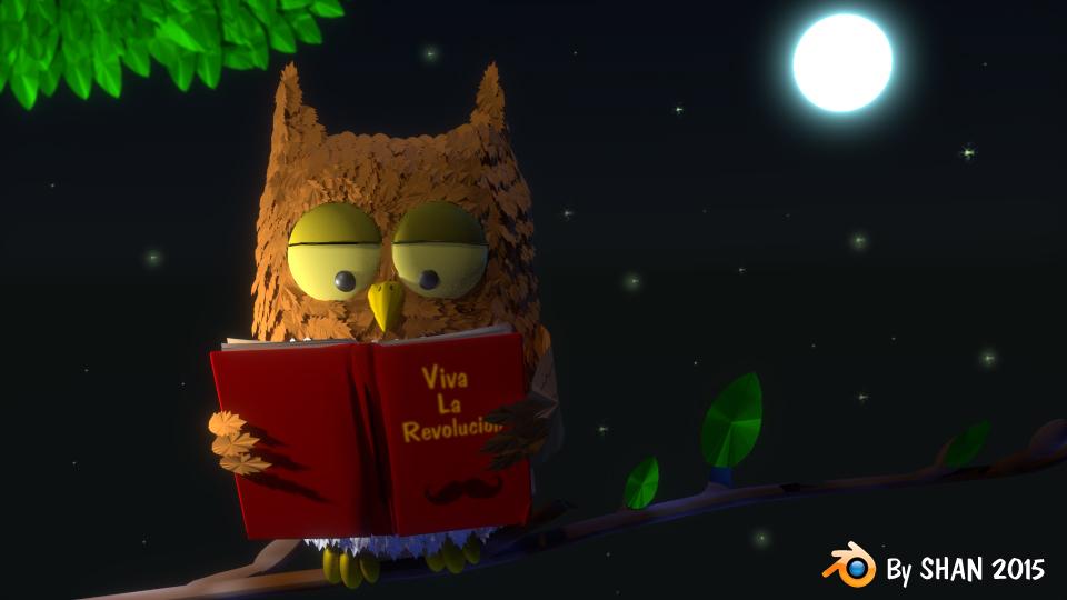 Revolutionary Owl
