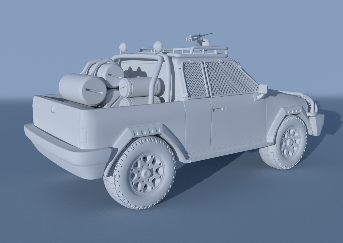Hard surface modeling course