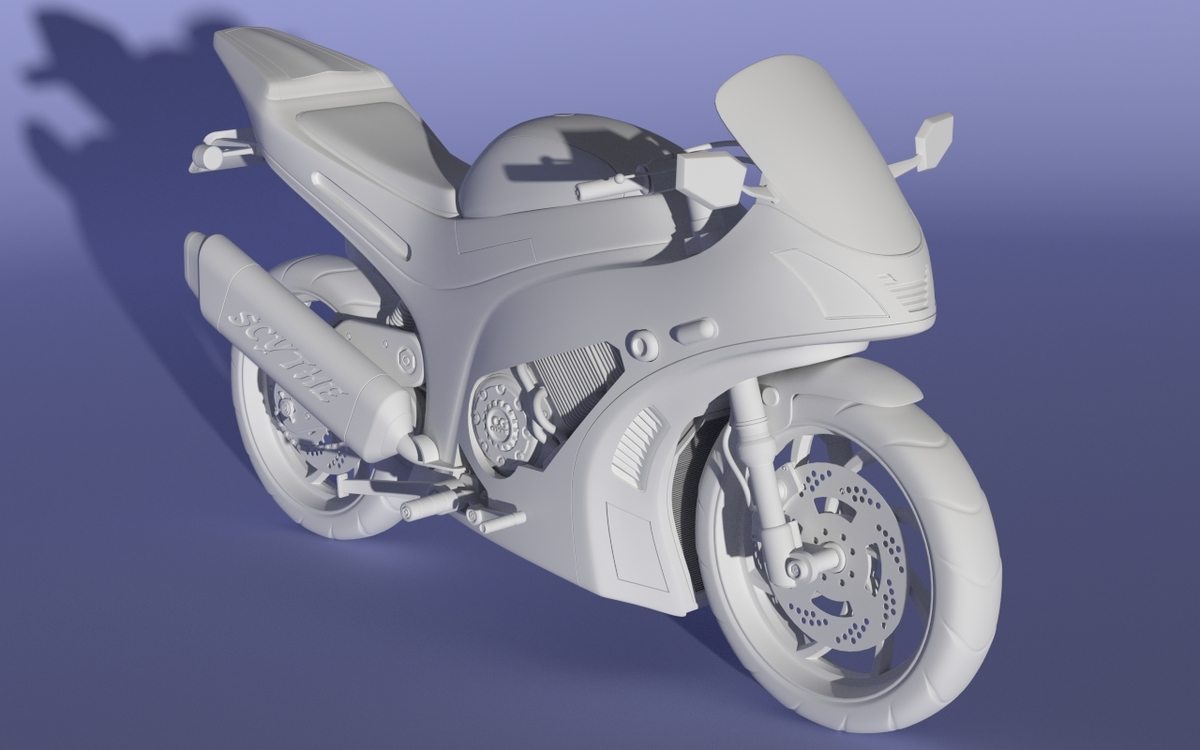 Modelling Motorcycle