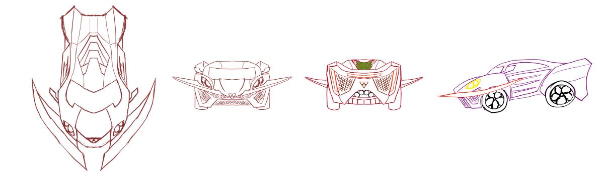 Car Design[Blueprint]