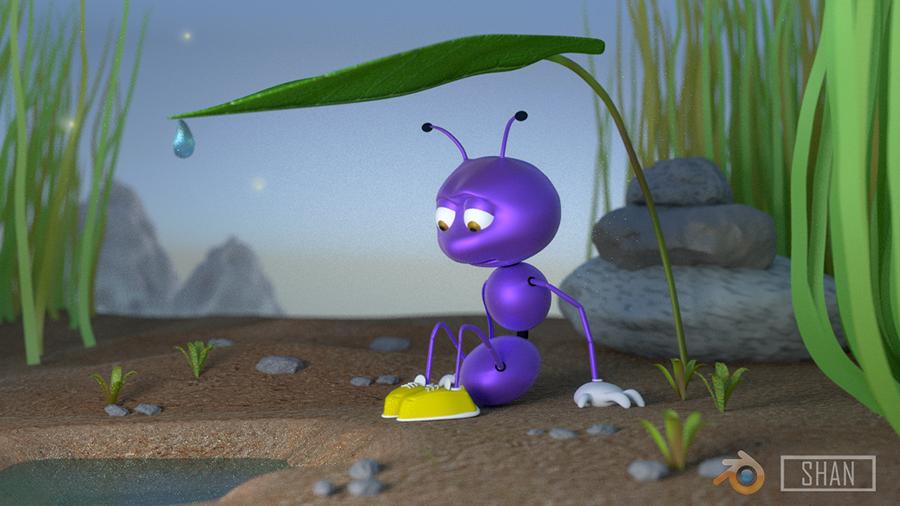 Mystic ant