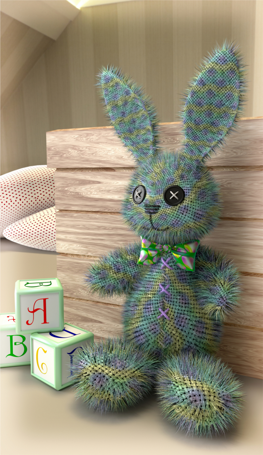 Cute Toy Bunny