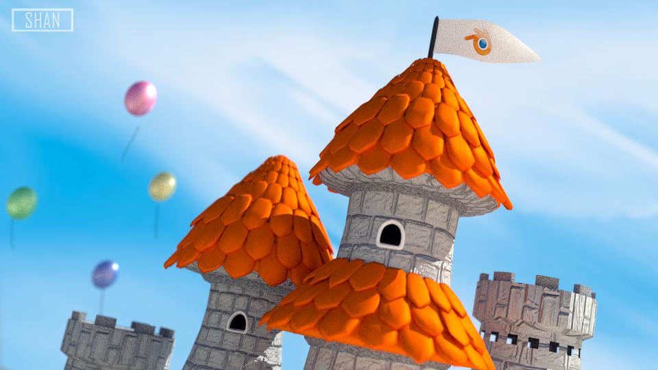 Blender Castle