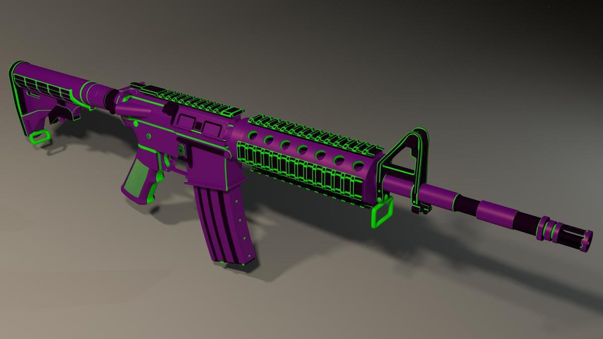 M4 Purple