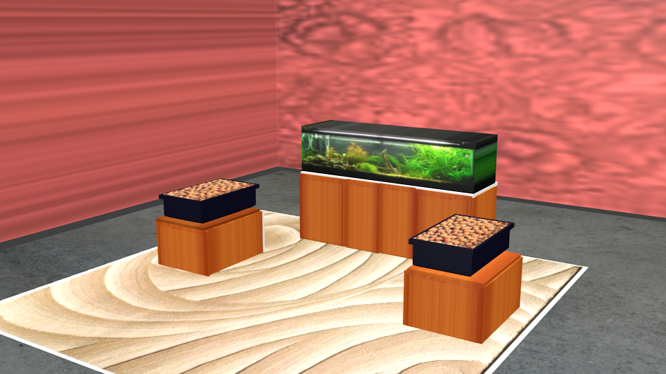 Aquarium aquaponics