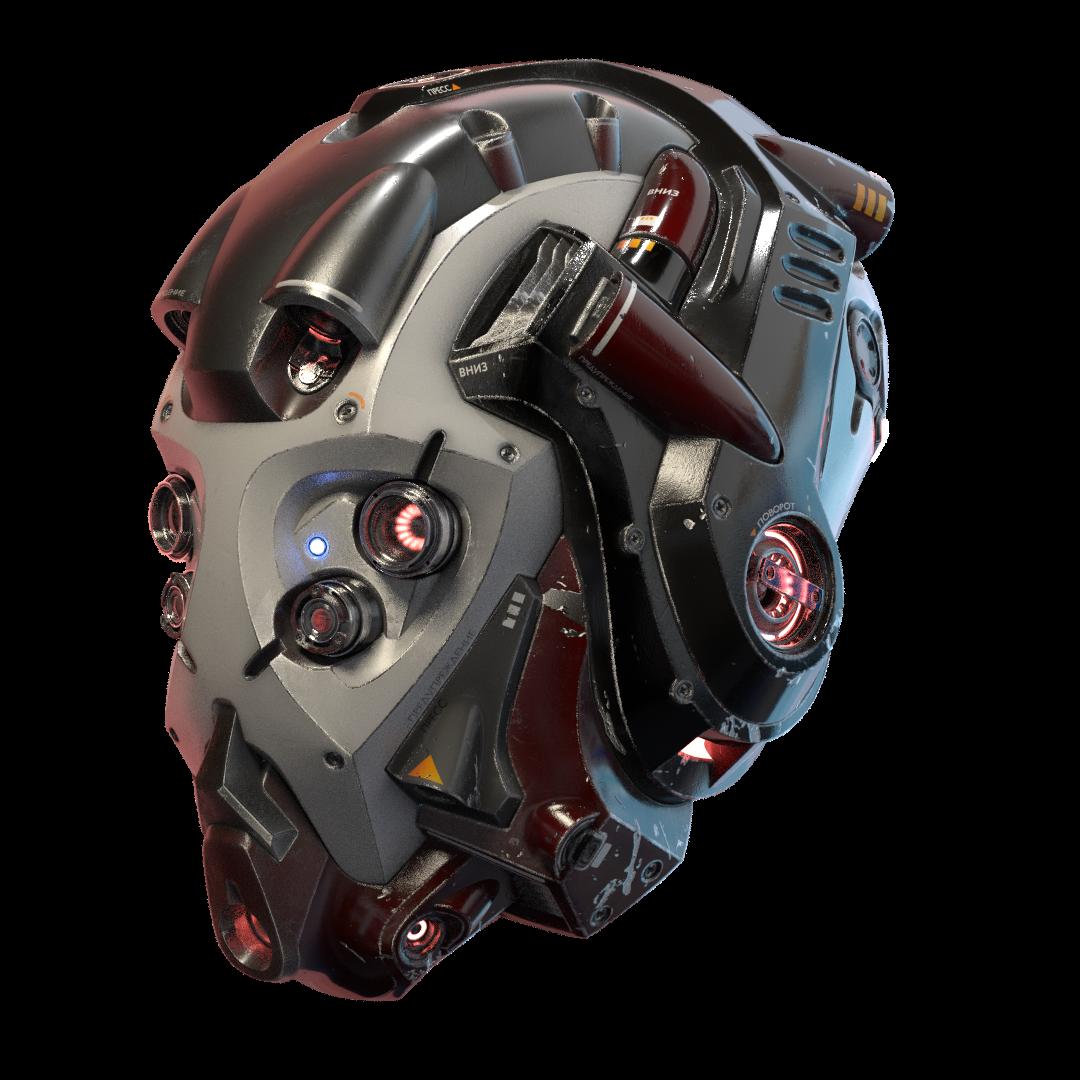 Sci_fi Helmet