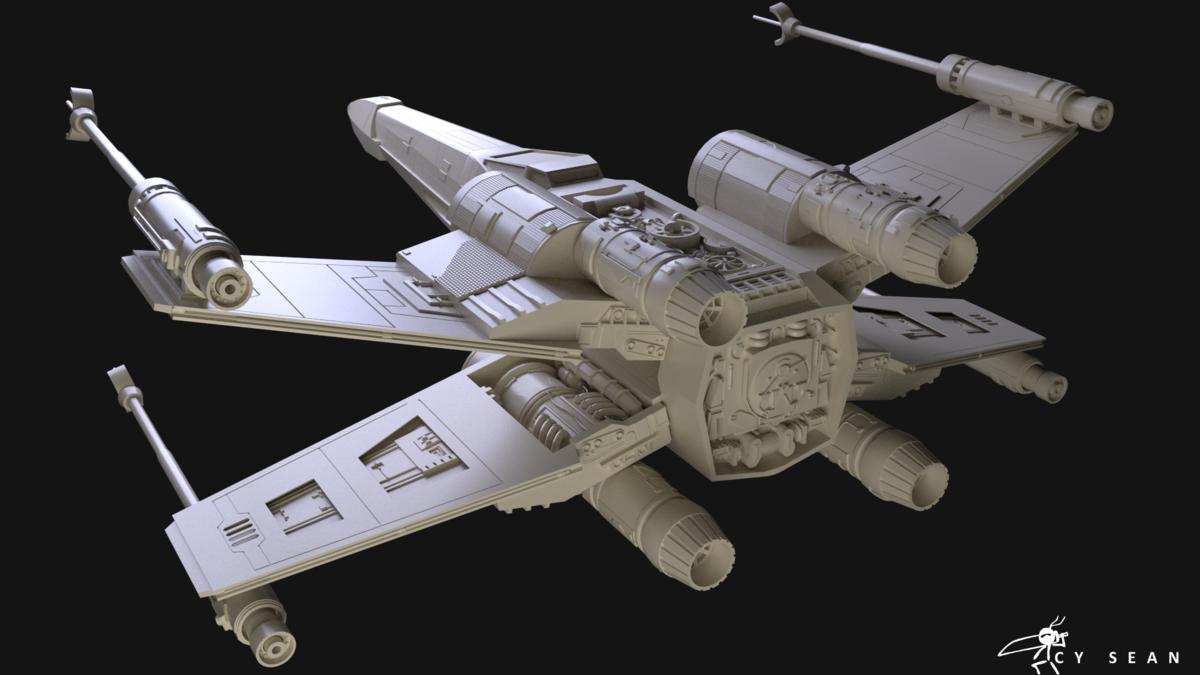 Star Wars X Wing WIP