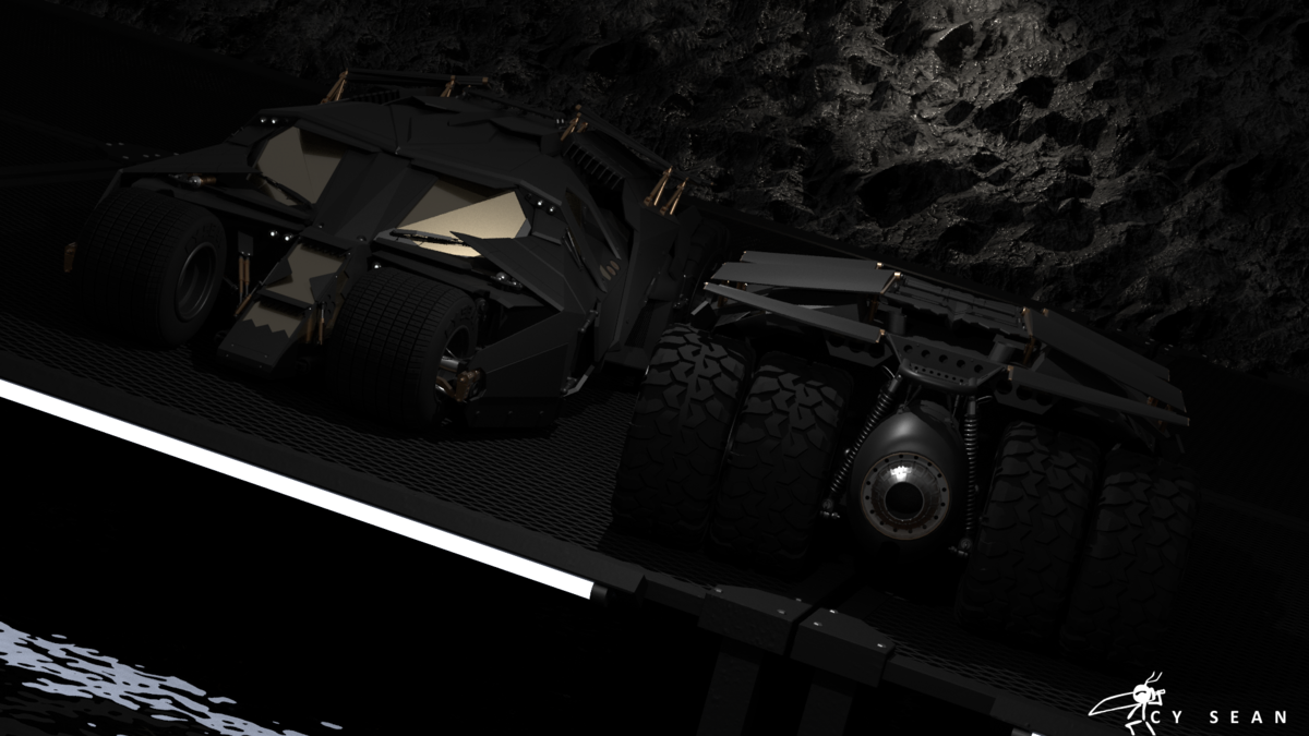 The Dark Knight Tumbler