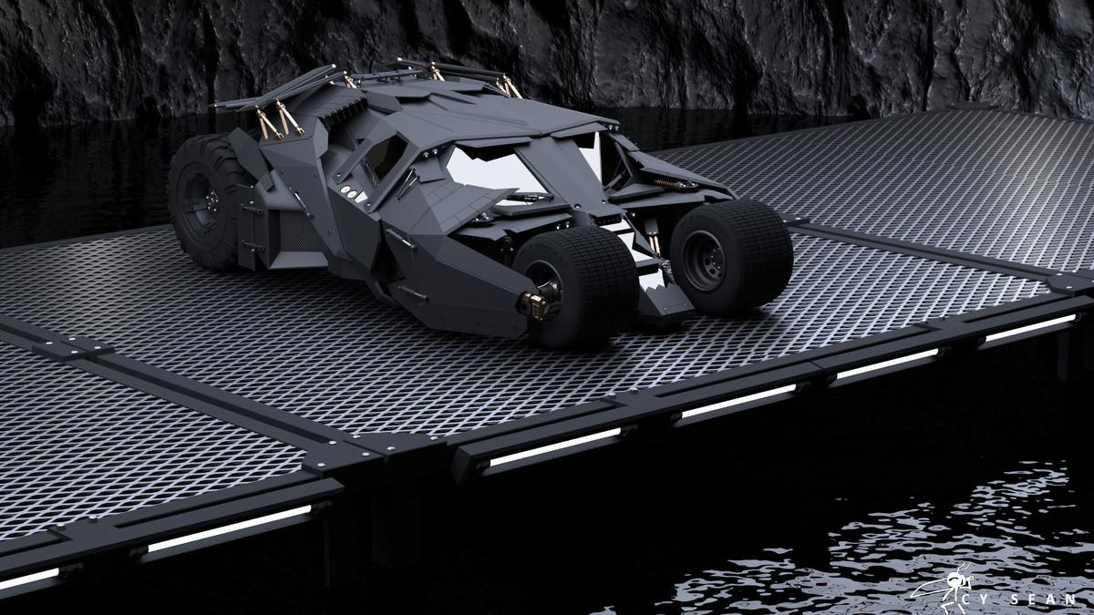 The Dark Knight Tumbler