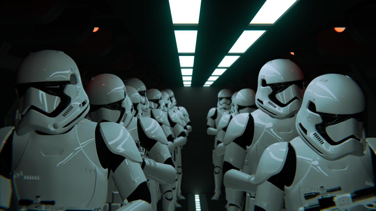 The First Order's Arrival On Jakku