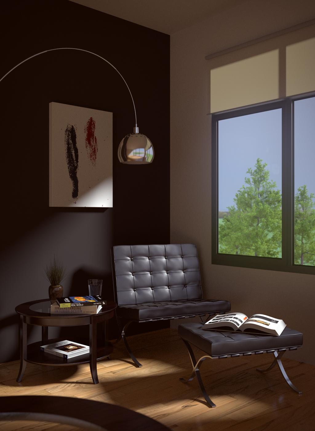 Basic Lounge Room
