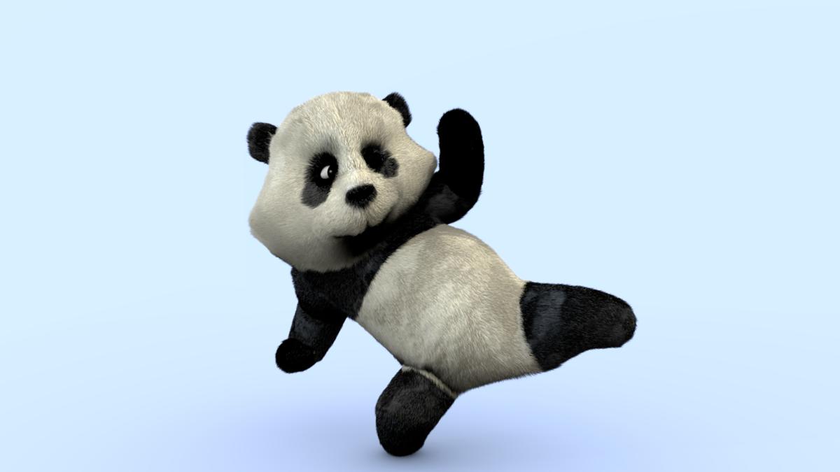 Qiaoqiaoban the Panda