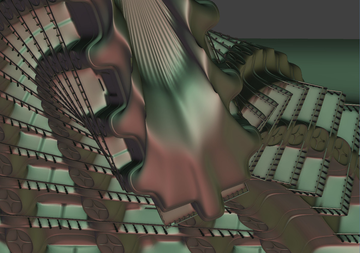 Screen capture 2 from : Modeling a Stylized Building – SL-1
