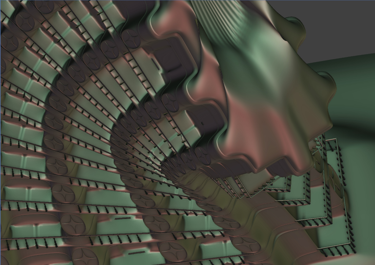 Screen capture 1 from : Modeling a Stylized Building – SL-1