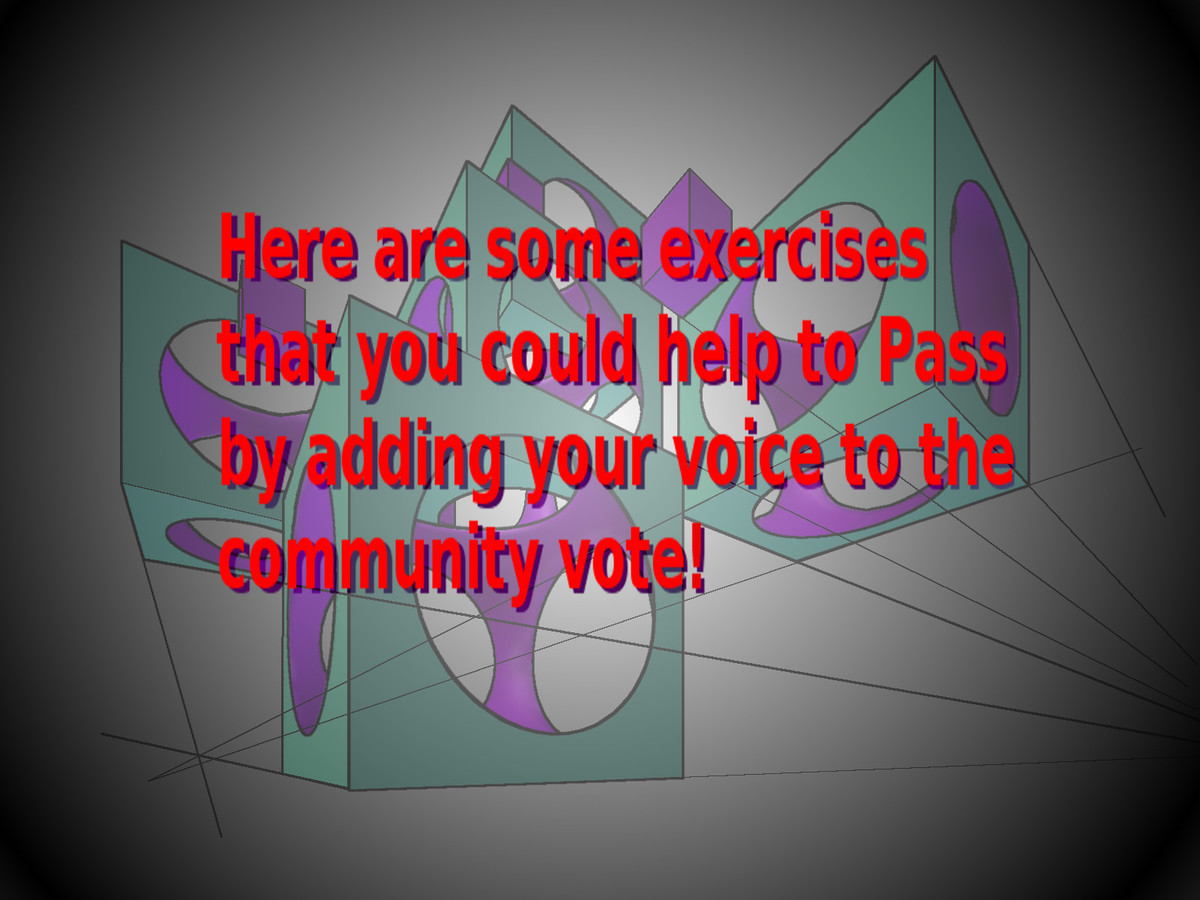 Links to Exercises that Need Voting.