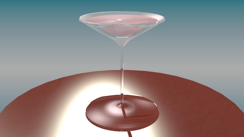 Martini and gin