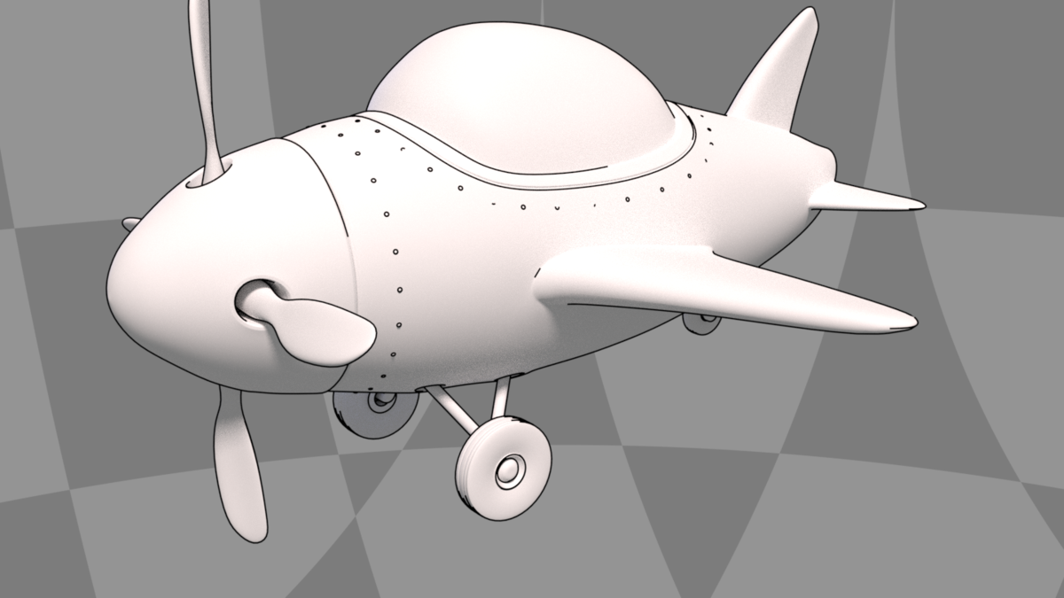 JW's First Plane