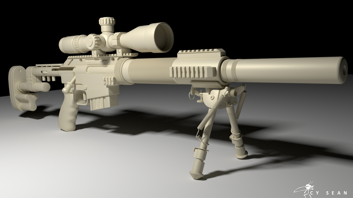 McMillan CS5 Sniper Rifle WIP