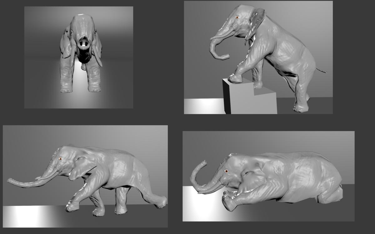 Elephant Poses