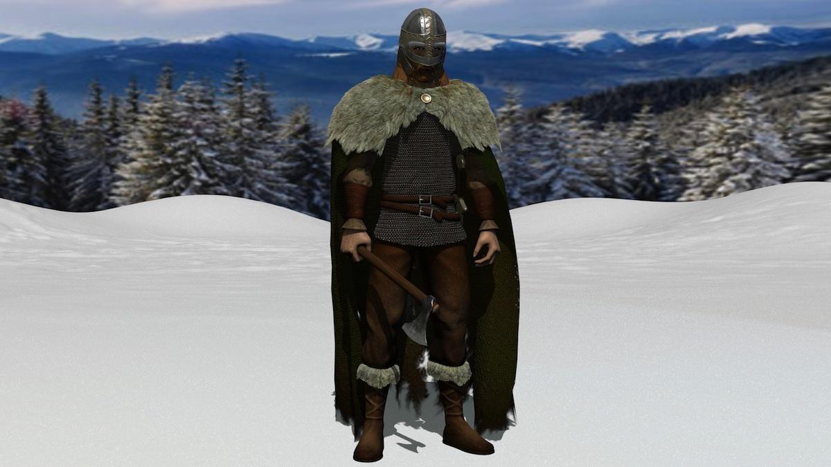 Viking render