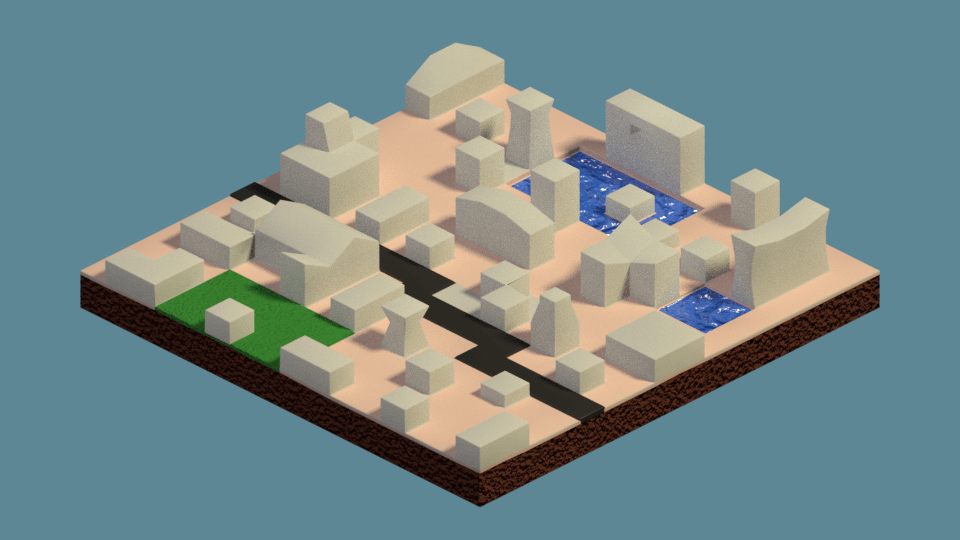 Small Town (Isometric)
