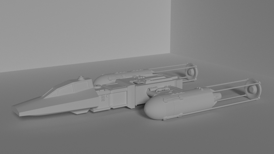 Work in Progress : Y Wing