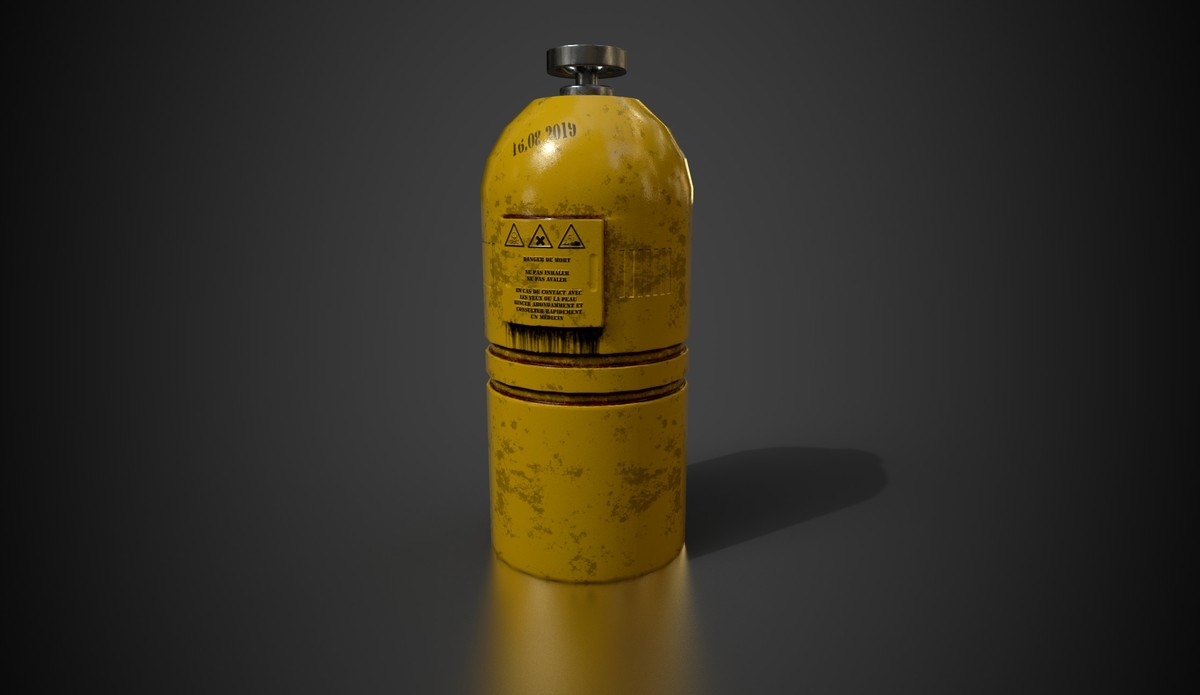 Dangerous Gas Bottle