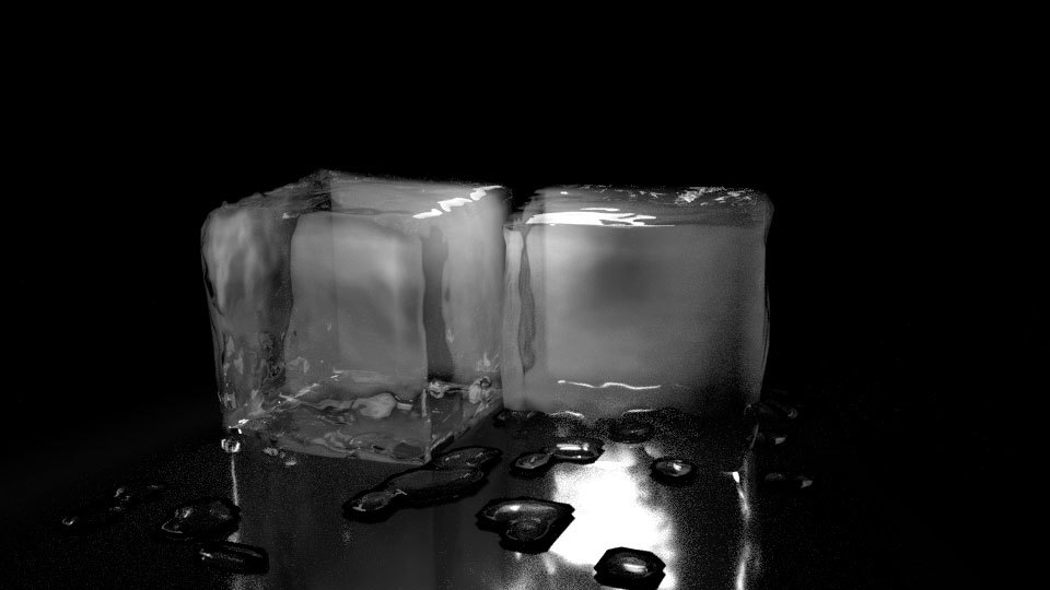 ice cubes shader forge 01