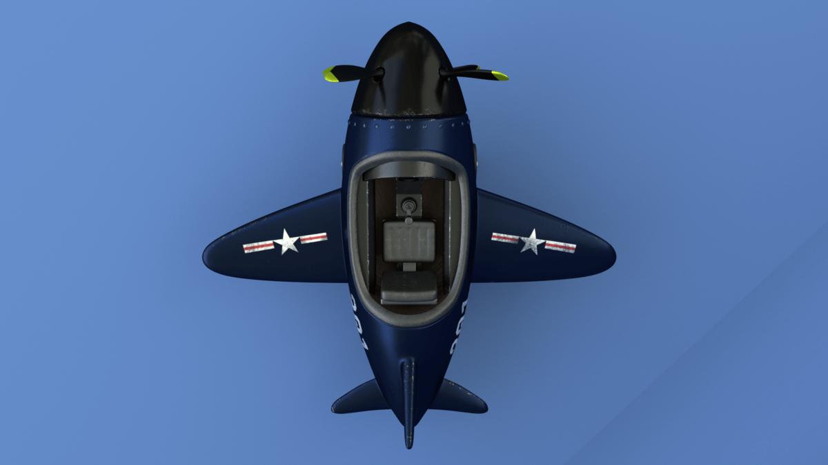 Plane - Top view