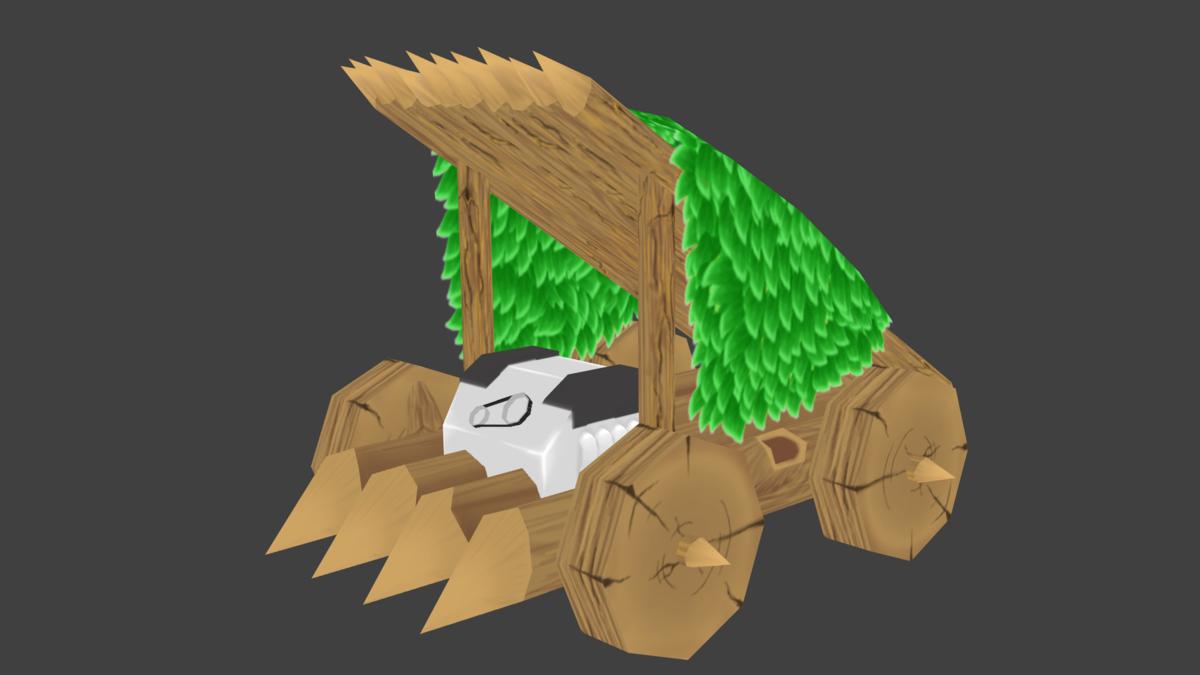 Babarian car 3D model