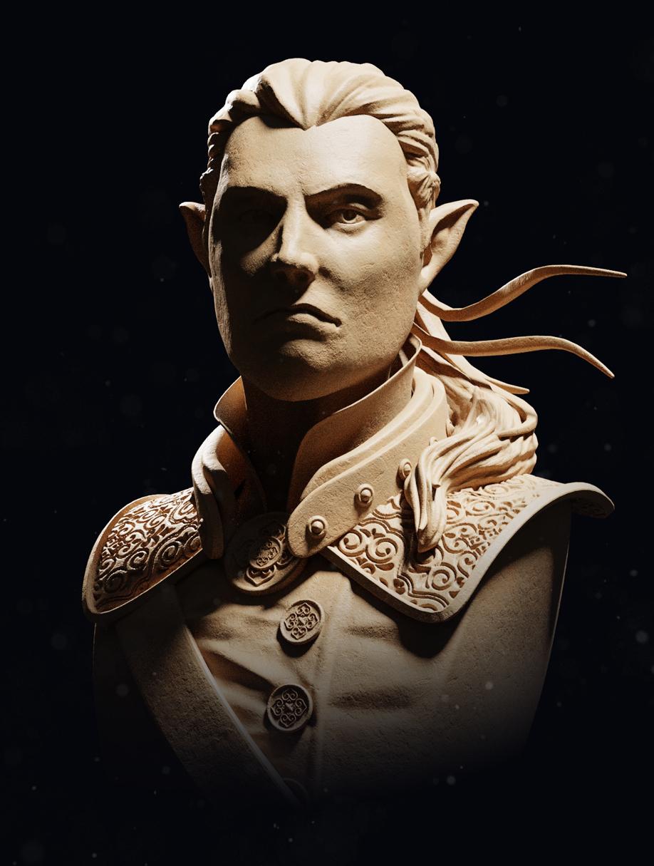 Elf Sculpt