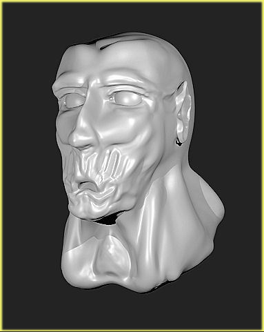 My First Sculpt.