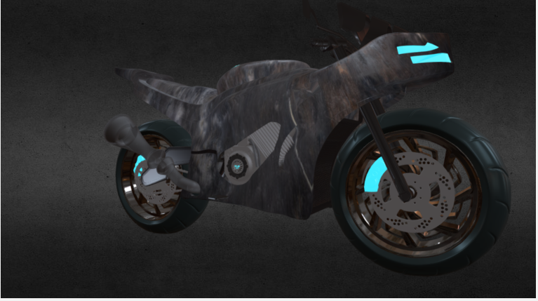 Grim reaper Bike