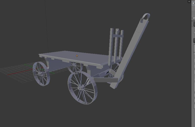 Railroad Baggage Cart