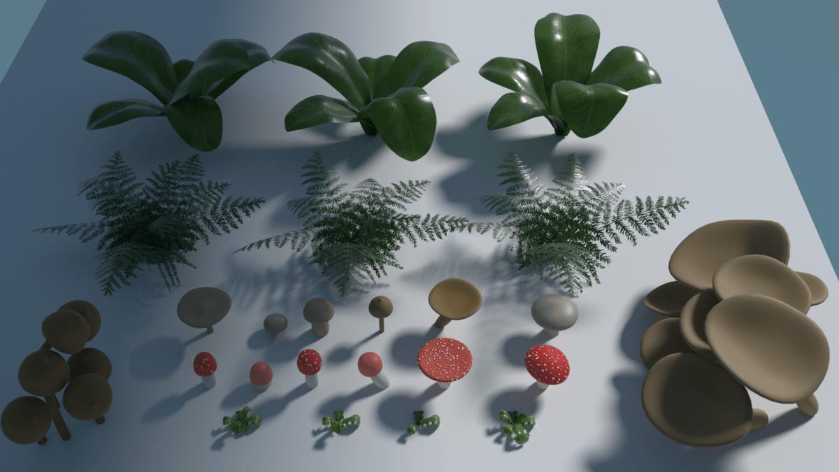 Plants render