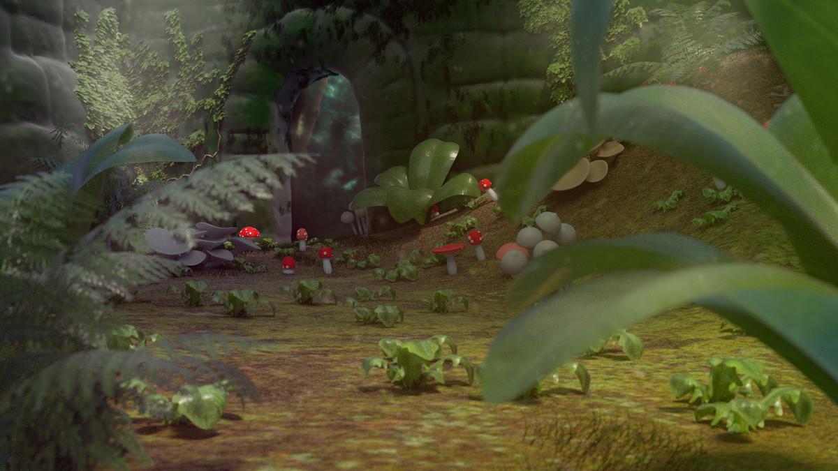 Plants scene