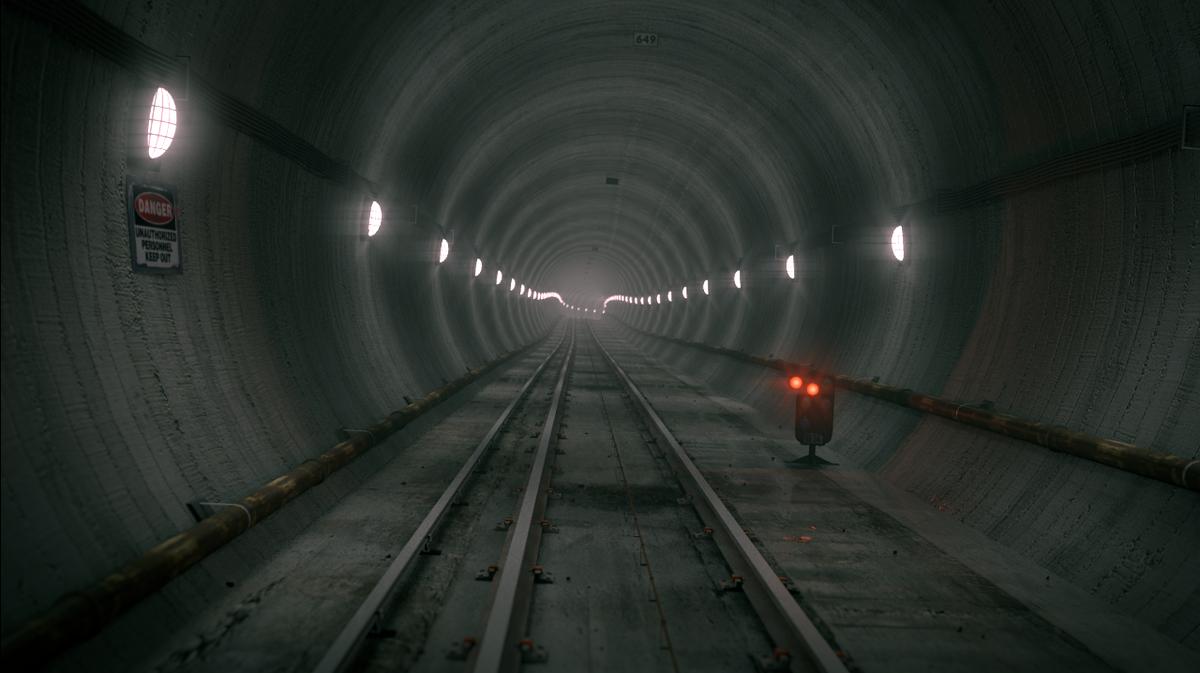 Scary Subway