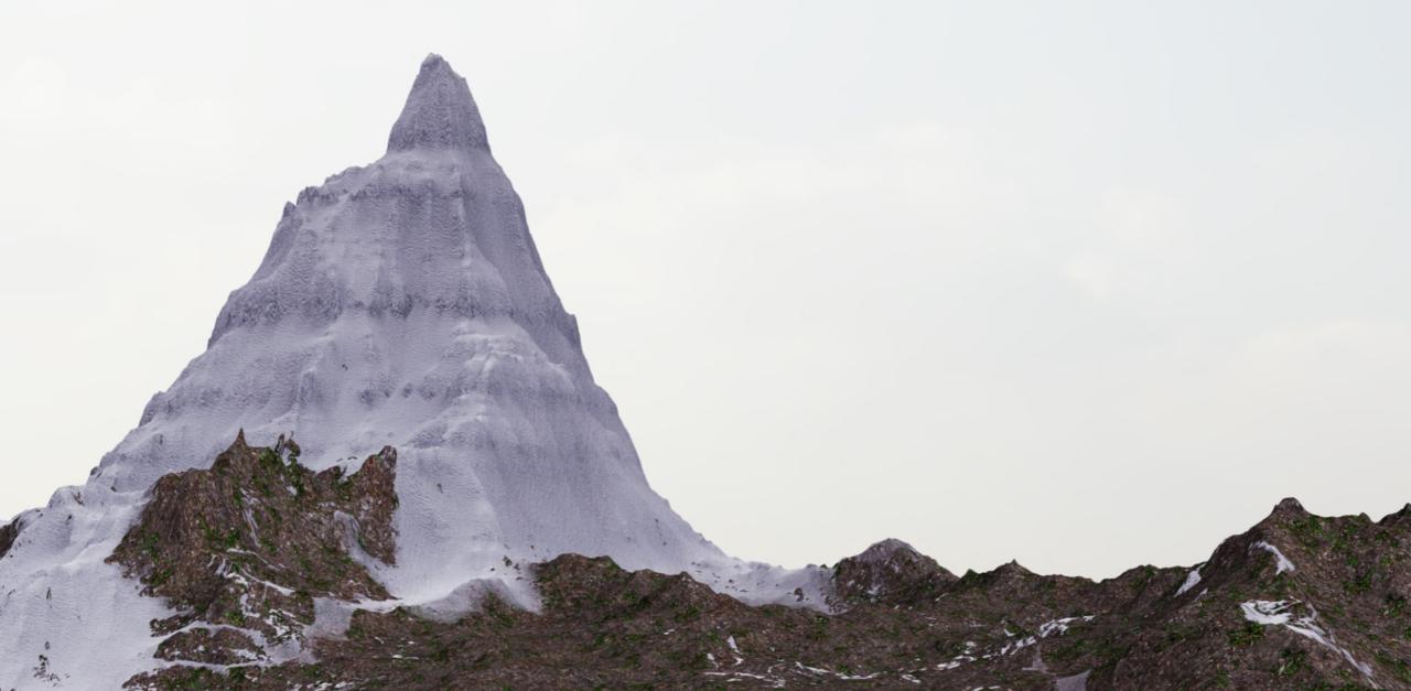 Mountain Test render