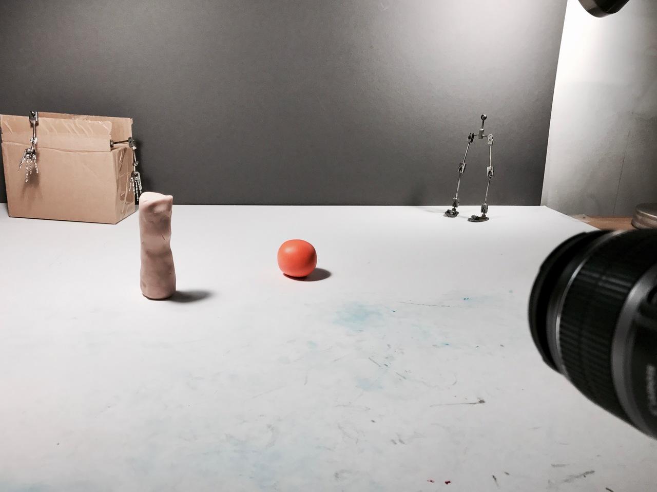 Bouncing a Clay Ball