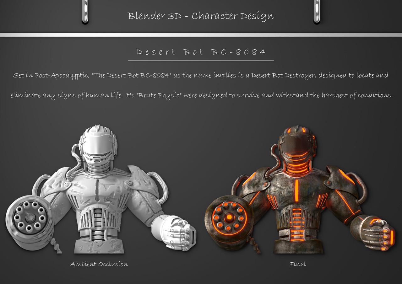 Desert Bot BC-8084