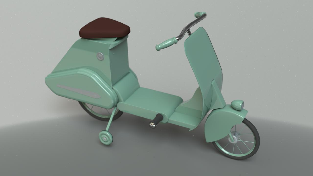 Vintage Toy Bicycle
