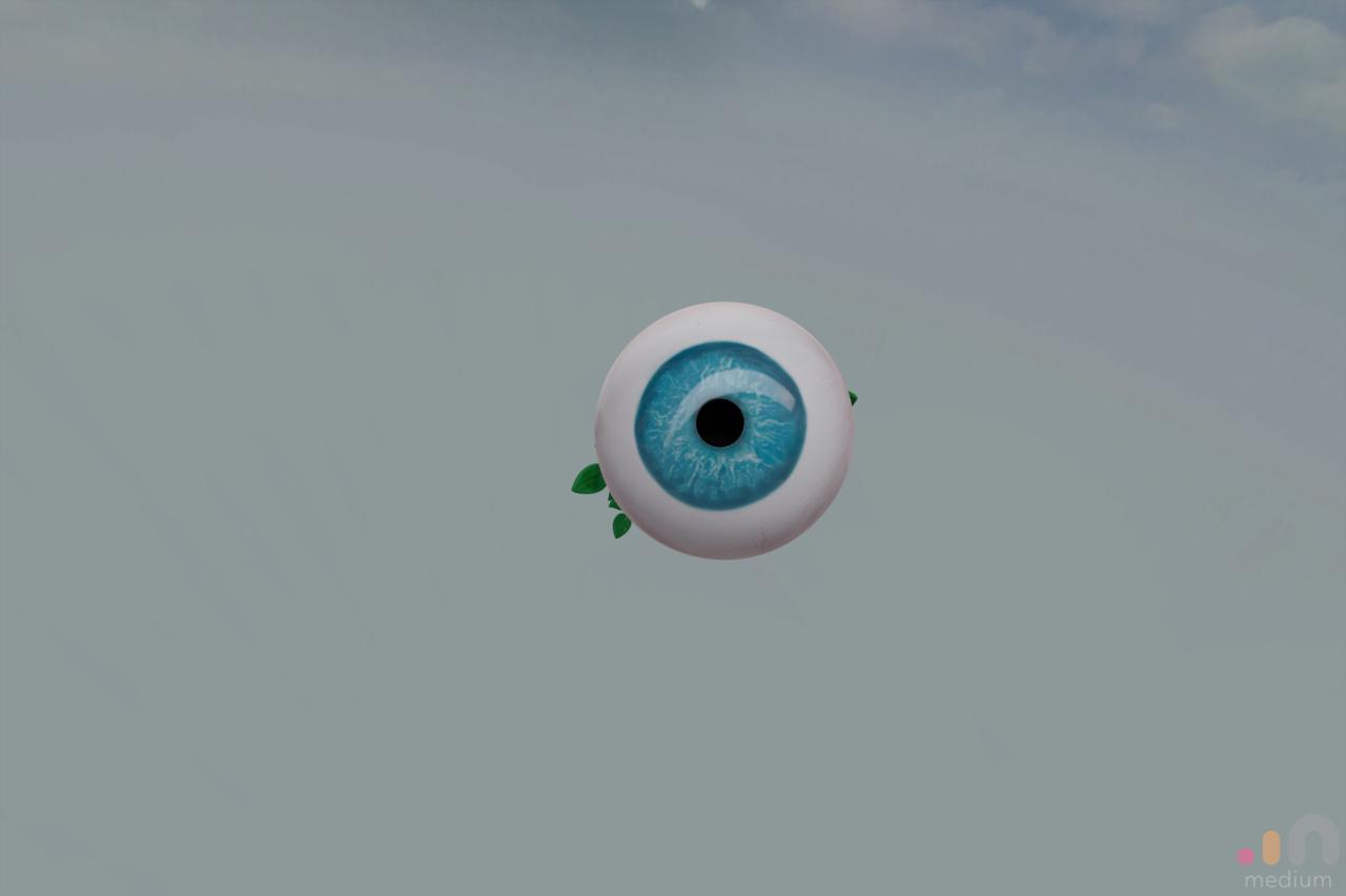 Long Stem Eyeball
