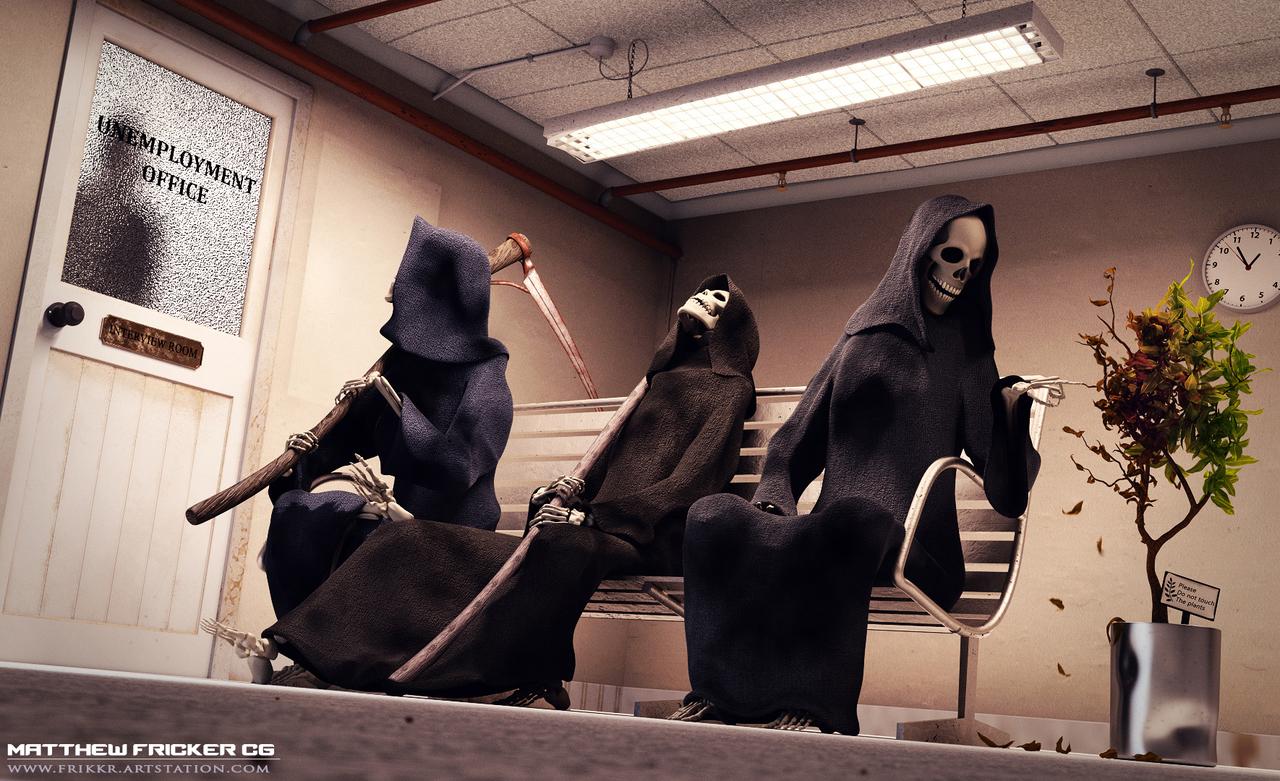 Grim Reaper CGC Contest - My submission